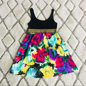 Colorful floral dress 🌺👌🏾